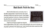 Black Death - Finish the Story