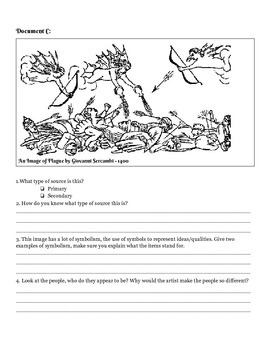 Black Death Primary Source Packet