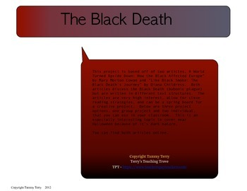 Creative Research Project - The Black Death