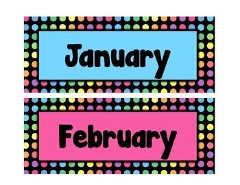 Black Dots: Calendar