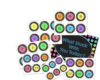 Black Dots: Classroom Decor MEGA Bundle