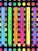 Black Dots: Editable Binder Covers & Spines
