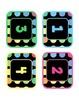 Black Dots: Number Labels