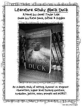 Black Duck by Janet Taylor Lisle Literature Study