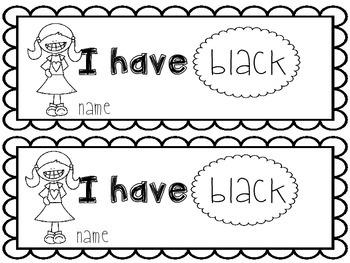 Black Emergent Reader