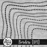Borders [Black Set 12]