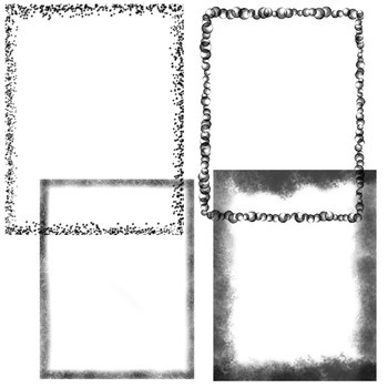 Transparent Black Frames {Personal and Commercial Use}
