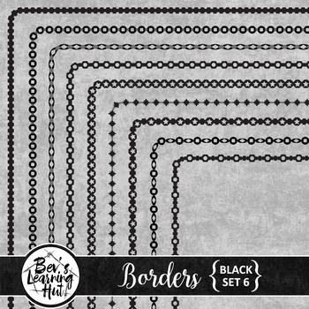 Borders [Black Set 6]