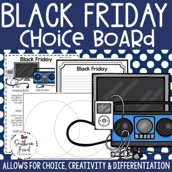 Black Friday Choice Board