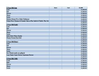 Black Friday Beginning Excel Lesson Plan