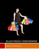 Black Friday Consumerism Lesson