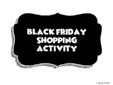 Black Friday Discount and Tax Shopping Activity