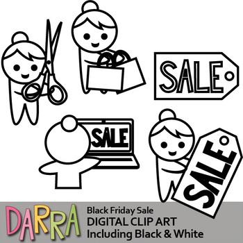 Black Friday Sale Clip Art