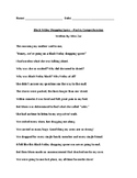 Black Friday Shopping Spree (Poetry Comprehension)