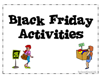 Black Friday (Thanksgiving Sale) Activities