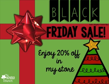 Black Friday TpT Sale Image