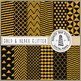 Black & Gold Glitter Digital Paper {Pretty Graphics}