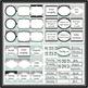 Black Gray Turquoise Classroom Decor - EDITABLE