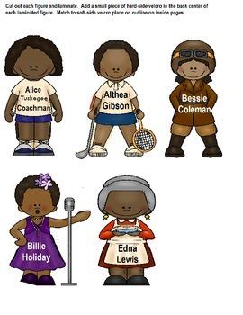 Autism File Folder Game - Black History Month {Autism/Special Education}