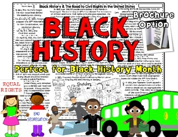 Black History Month Activity: Non-Fiction Reading