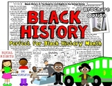 Black History Month Reading Activity: Non-Fiction Reading