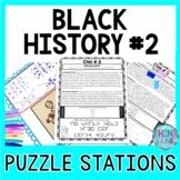 Black History #2 ESCAPE ROOM: Black History Month, Parks, Marshall, Carver &more