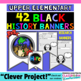 Black History Month Activities: Research Project Banner