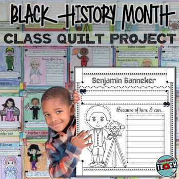 Black History Month Bulletin Board and Class Activity Project