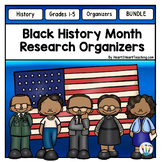Black History Month Activities Bundle: Black History Month Research Organizers