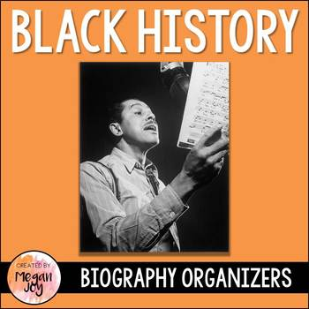 Black History Famous African Americans Research Organizers