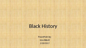 Black History Answers
