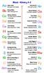 Black History A-Z Alphabet Chart