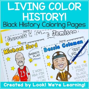 Black History Activities: Living Color History!