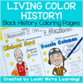Elementary Black History Activities: Black History Coloring Pages