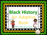 Black History Adaptive Book