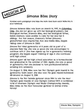 The Believer Series - SIMONE BILES/Black History/African Heritage/NO PREP