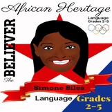 The Believer Series - SIMONE BILES/Black History/African H