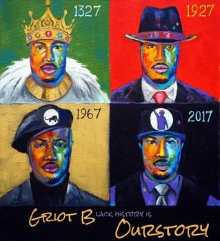 Black History Month Music Rap Album - (African History / US History) Ourstory