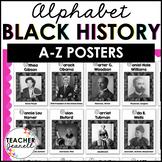 Black History Posters Alphabet - Black History Month Bulletin Board