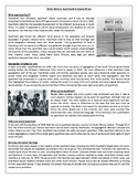 Black History: Apartheid In South Africa - Reading Comprehension Text