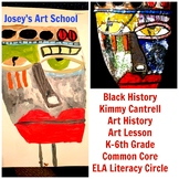 Black History Art Lesson Kimmy Cantrell Grade K-6 Painting Lesson Common Core