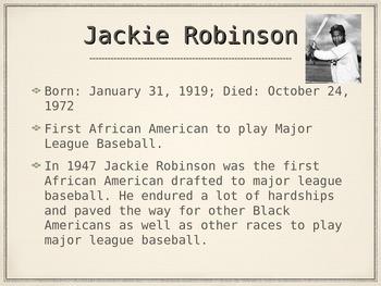Black History - Athletes