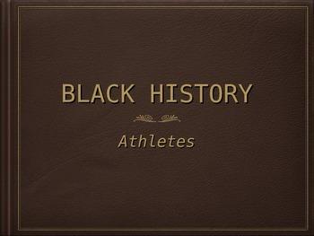 Black History Athletes
