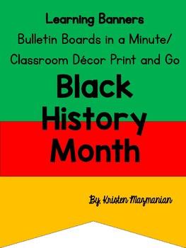Black History Banner