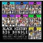 Black History Big Clip Art Bundle