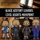Black History  Biographies Bundle: MLK, Rosa, Ruby and Thurgood