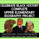 Black History Biography Project *NO PREP!*