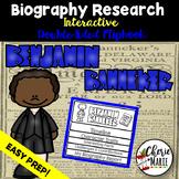 Black History Biography Research Report Flipbbook Benjamin Banneker