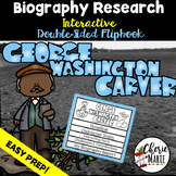 Black History Biography Research Report Flipbbook George W