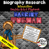 Black History Biography Research Report Flipbbook Harriet Tubman